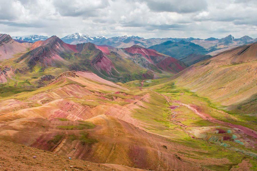 Rainbow Mountain Valley
